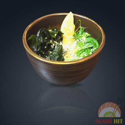 Салат с водорослями чука