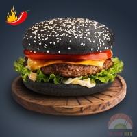 Спайси Черный бургер